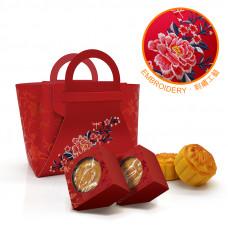 中式刺繡 中秋禮盒