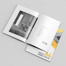 A4 黑白騎釘/膠裝書刊 (數碼)